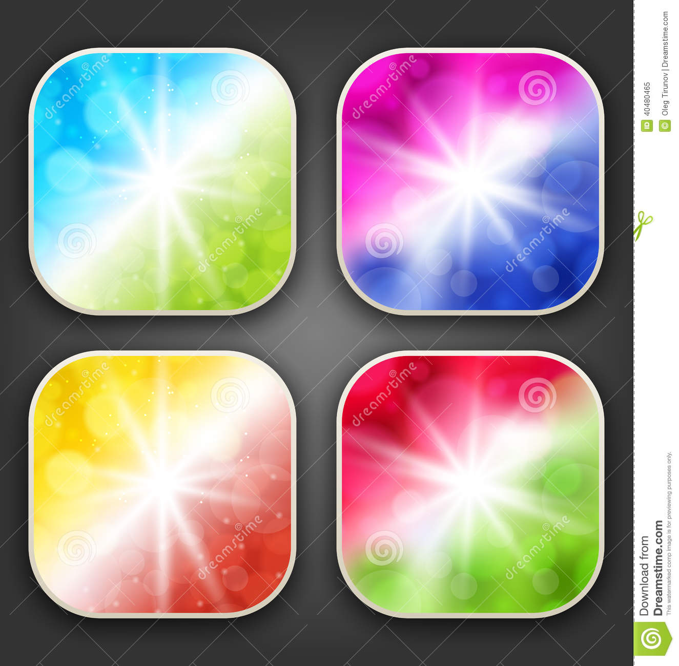App Icons with Background