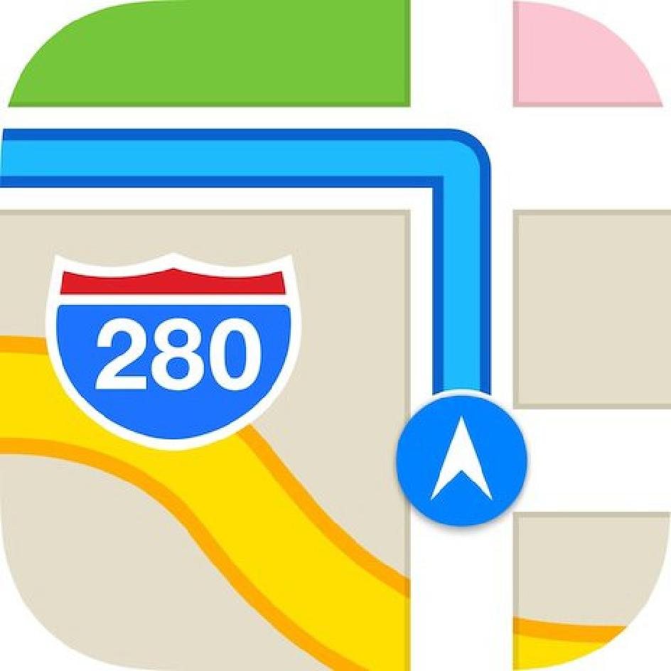 8 IOS 7 Maps Icon Images