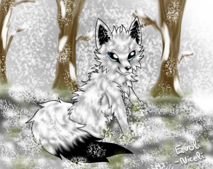 15 Simple Cute Snow Wolf Icon Images - Cute Baby Snow ... - photo#45