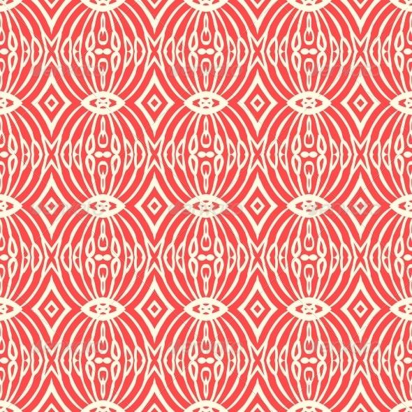 Art Deco Fabric Pattern
