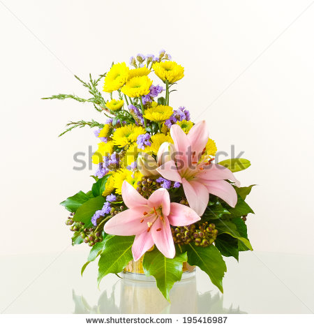 11 Vector Flower Pot Arrangement Images