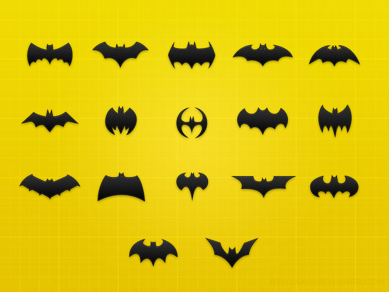 10 Cartoon Batman PSD Images