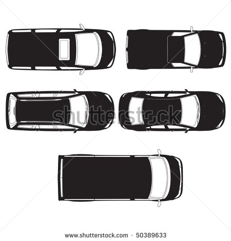 13 Car Top View Vector Icon Images Car Top View Vector Car Icon