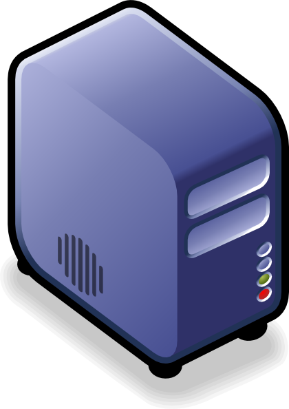 13 Computer Server Icon Blue Images