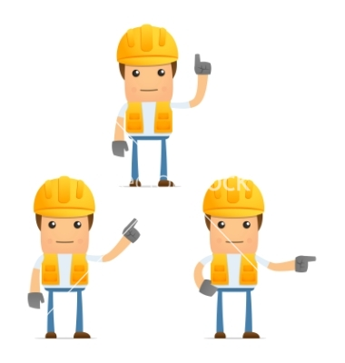 14 Construction Worker Vector Images