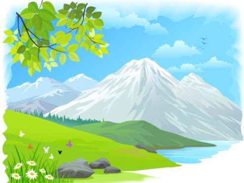 13 Cartoon Background Vectors Images