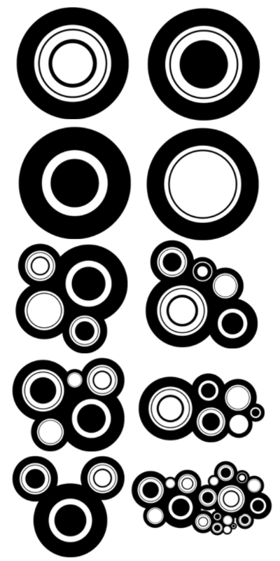 Circle Photoshop Brushes Free