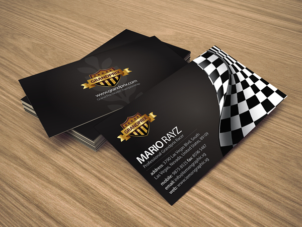 Corporate Graphics Business Cards