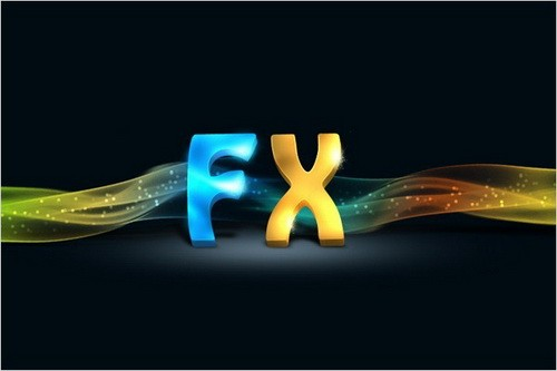 Create 3D Text Effect Photoshop