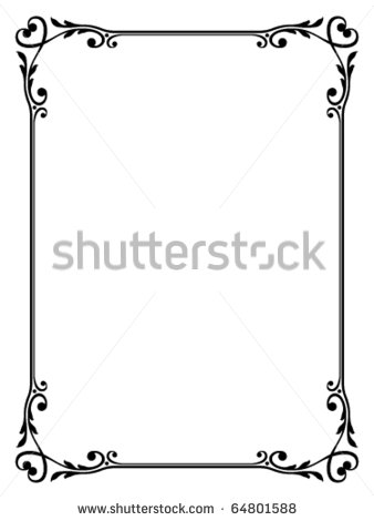 Decorative Heart Borders and Frames