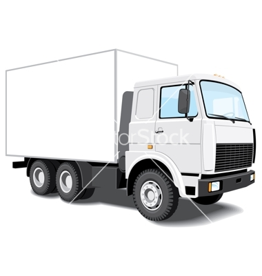 delivery truck vector - photo #2