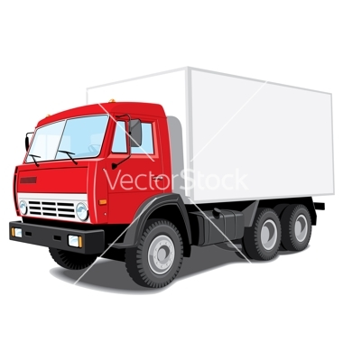delivery truck vector - photo #3