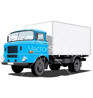 delivery truck vector - photo #6
