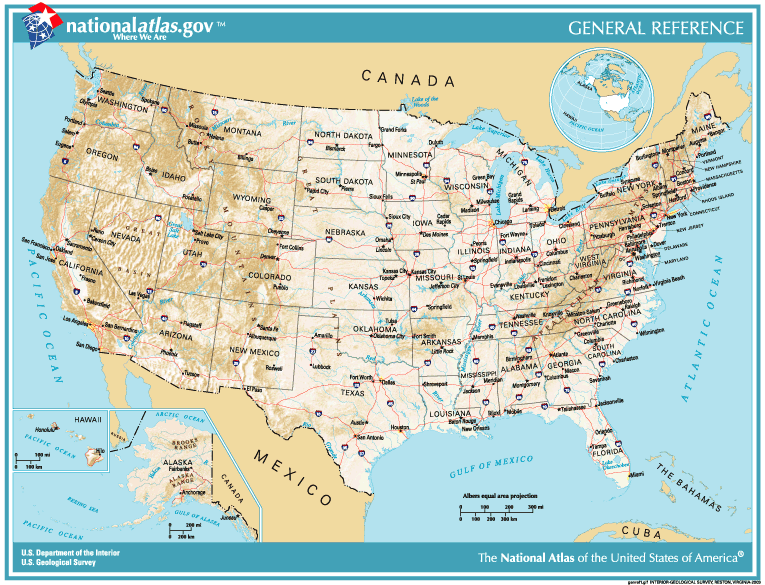 Topographic Map Of The United States Images Us Topographic - Topagraphical map of us