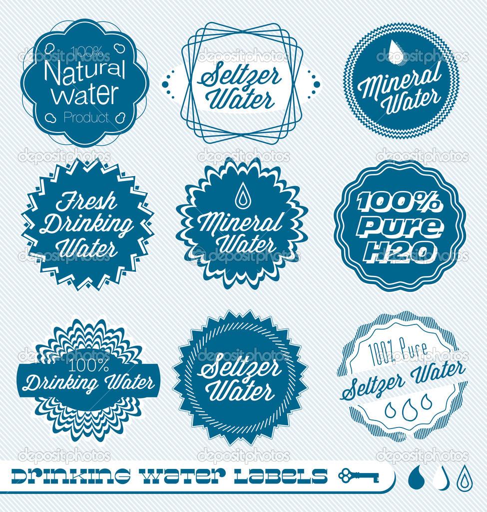 Drinking Seltzer Water