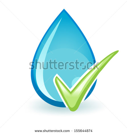 Drinking Water Clip Art Vector