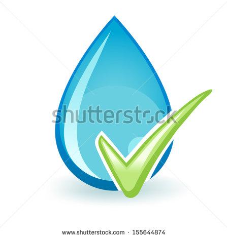 Drinking Water Clip Art Vector