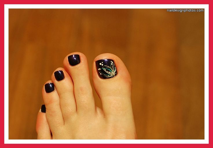 Easy Toe Nail Designs