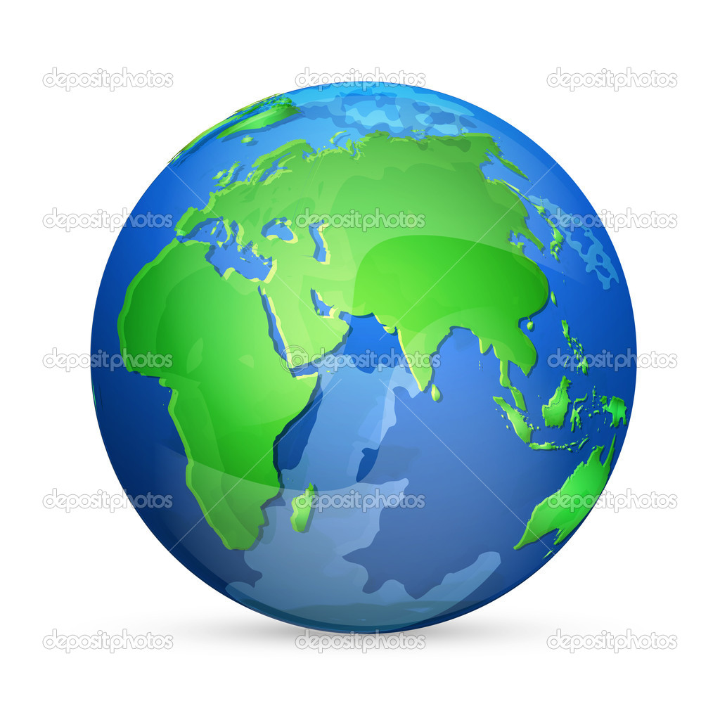 Facebook Earth Icon