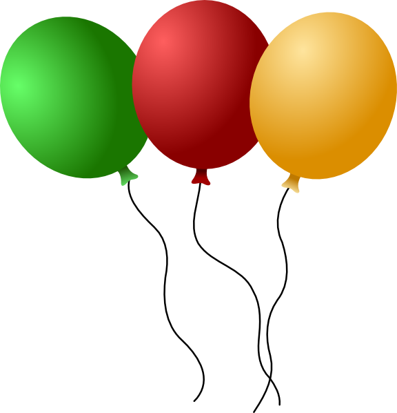 12 Vector Cartoon Balloons Images