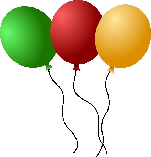 12 Vector Cartoon Balloons Images