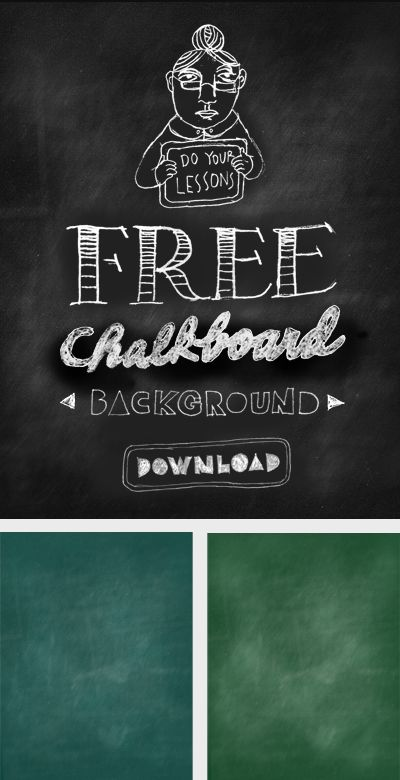 Free Chalkboard Download