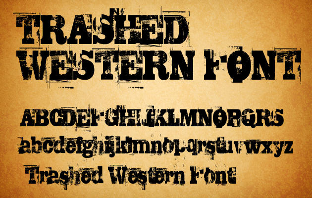 Western cowboy alphabet fonts images free cowboy western fonts
