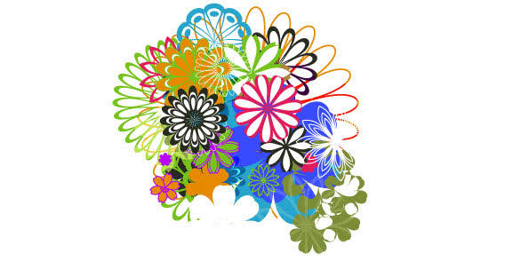 18 Free Vector Clip Art For Flower Bouquets Images