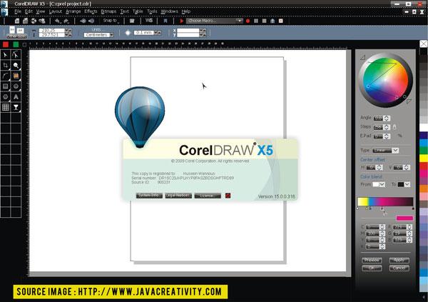 Free Full Download Keygen CorelDRAW X5
