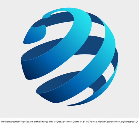 Free Globe Logo Vector