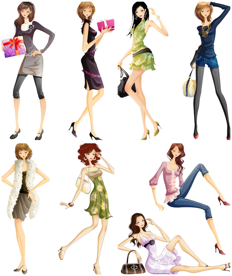15 Woman Vector Graphics Images