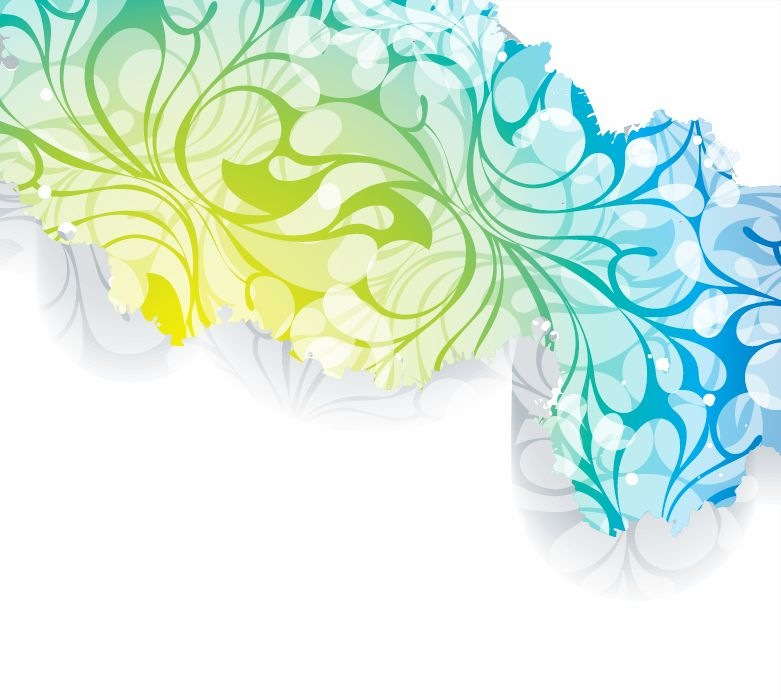 Free Vector Floral Backgrounds for Clip Art