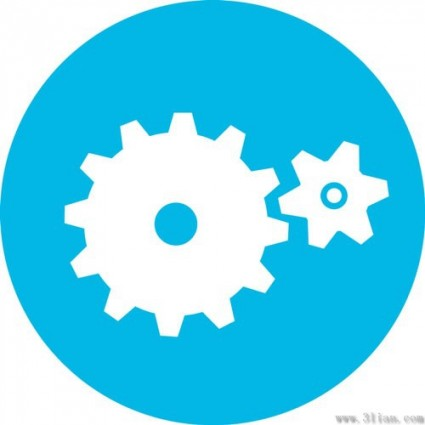 Gear Icon Vector Free