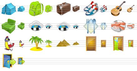 Globe Icons Windows 7