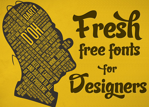 Graphic Design Typography Fonts Free