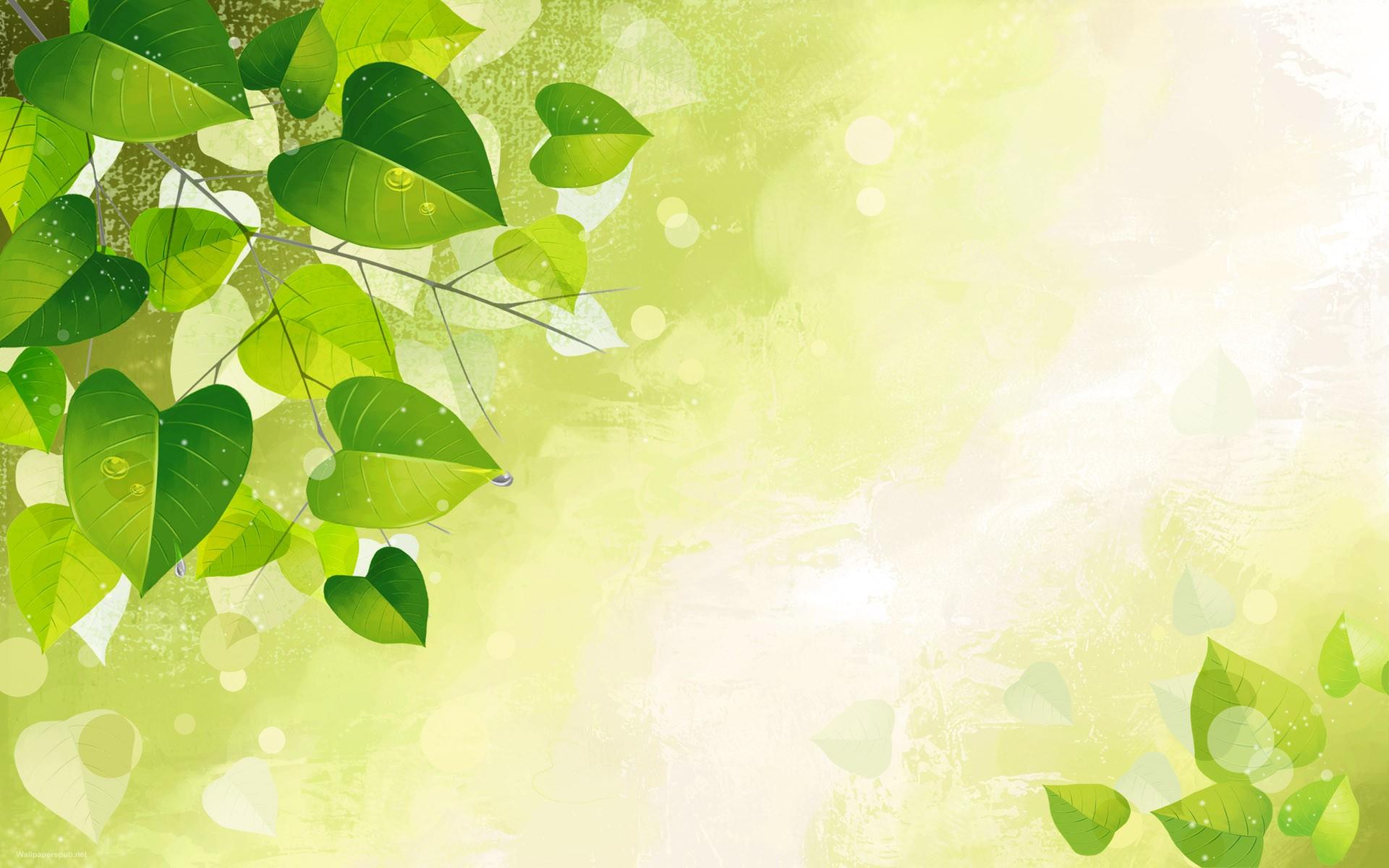 Green Flower Vector Art