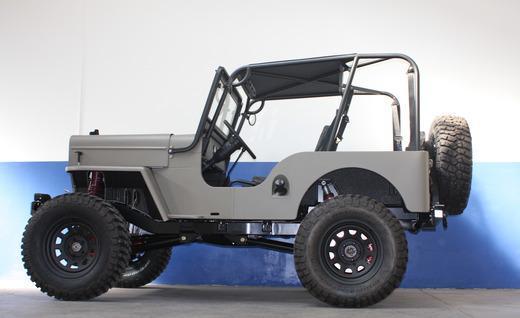 Icon CJ3B Jeep