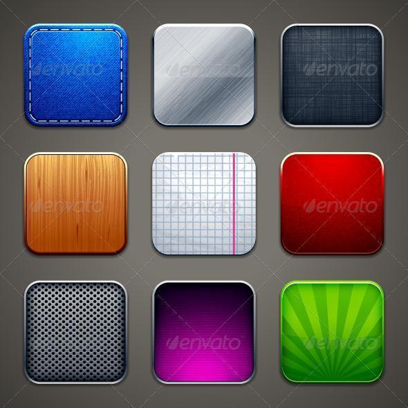 iOS App Icon Backgrounds