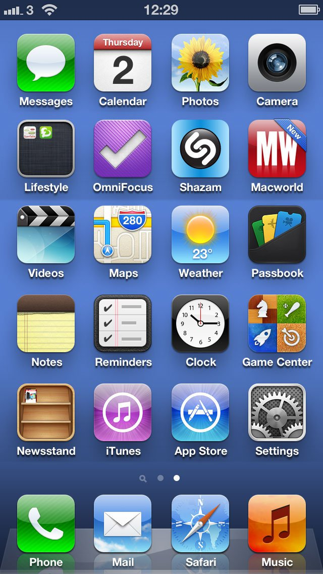14 IPhone 5 Display Icons Images