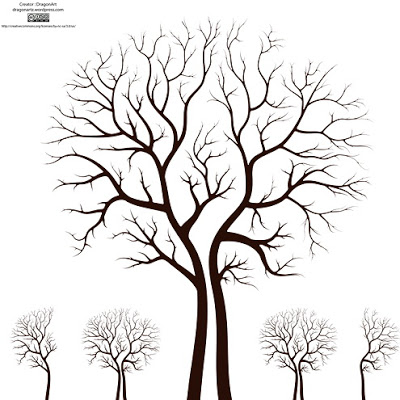 15 Vector Tree For Wedding Images