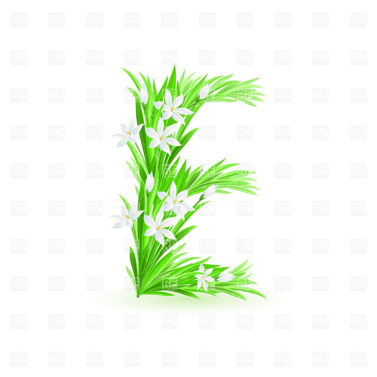 7 Spring Flower Font Images
