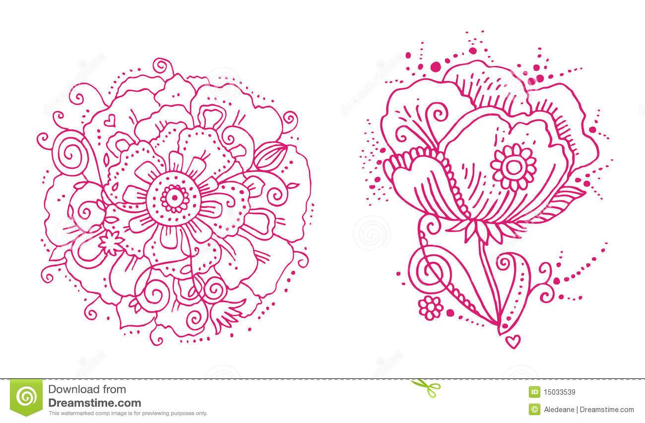 Line Floral Design
