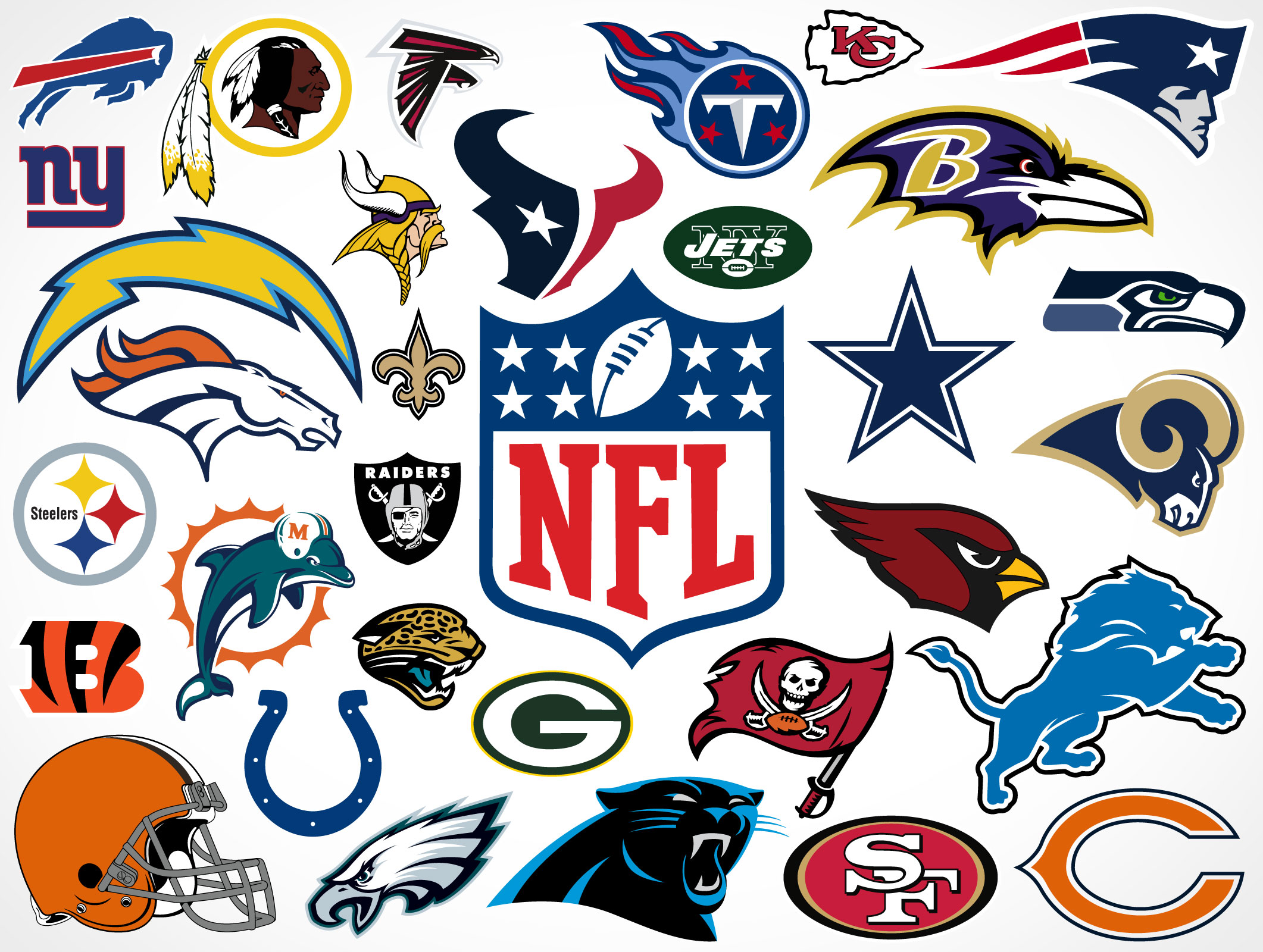 NFL Football Team Logo