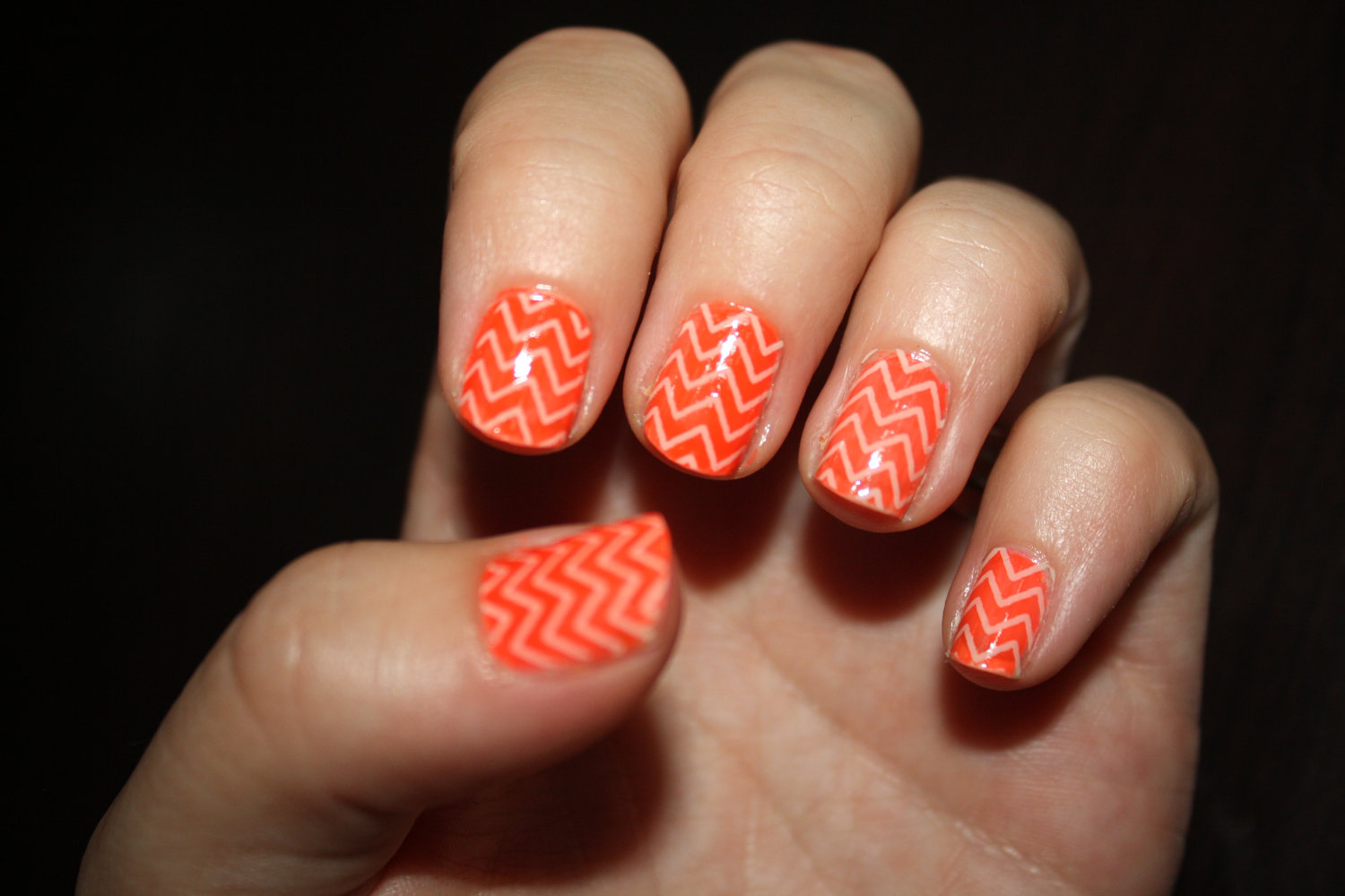 16 Orange Nail Designs With Color Images