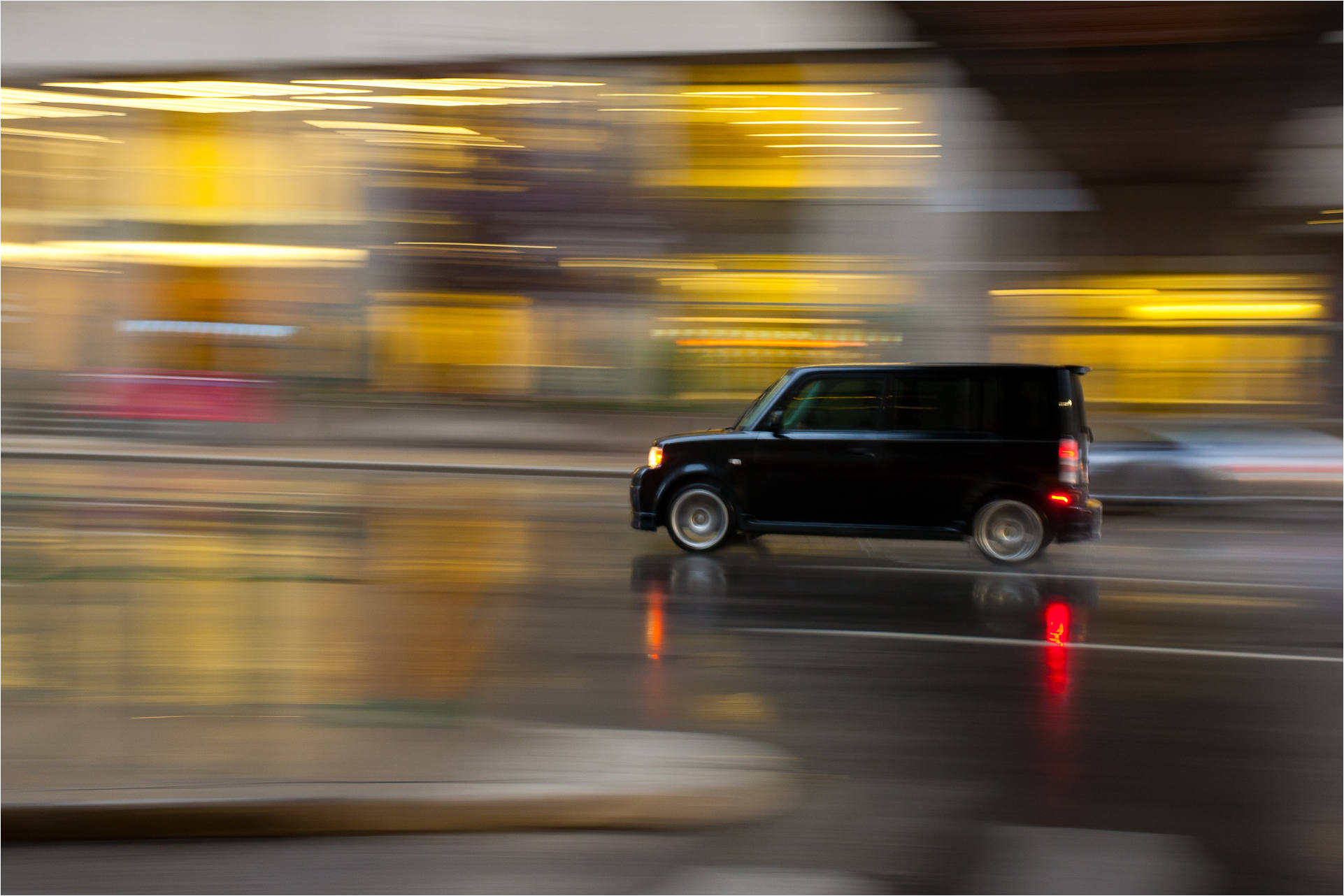 Panning Motion Blur Photography