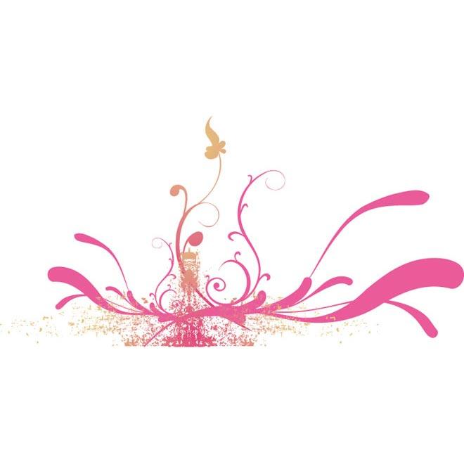 Pink Flower Line Drawing : Floral line design images tattoo designs