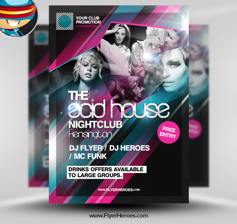 Club Flyer Templates Photoshop Images Template Design Free Download