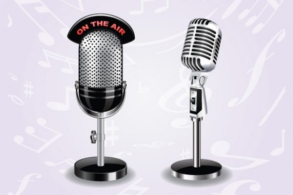 13 Recording Studio Microphone PSD Images