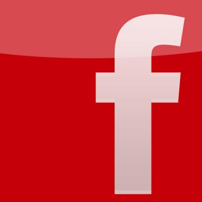 Red Facebook Logo