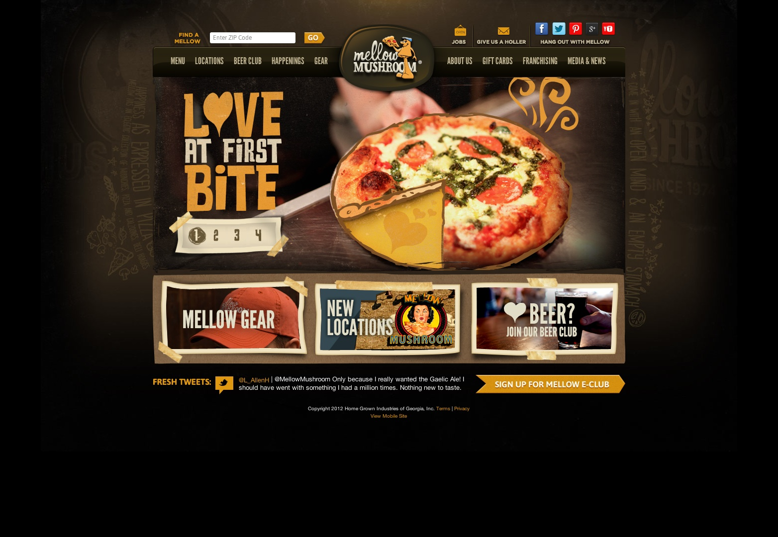 Best restaurant websites design images